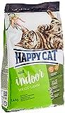 Happy Cat Indoor Adult Weide-Lamm, 1er Pack (1 x 1.4 kg)