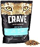 Crave Trockenfutter für Katzen, Protein- und getreidefreies Katzenfutter mit Truthahn und Huhn