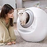 Jlxl Automatisch Selbstreinigung Katzenstreukasten Komplett geschlossen Elektro-Reiniger Smart Cat Toilette Mit Deo for Katzengewicht und Reinigung 9.25
