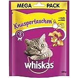 whiskas Knuspertaschen Huhn & Käse | 4X 180g Katzensnack