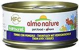 Almo Nature HFC Natural Katzenfutter nass - Thunfisch mit Venusmuscheln 24er Pack (24 x 70g)