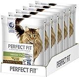 Perfect Fit Senior 7+ – Trockenfutter für Senioren Katzen ab 7 Jahren – Reich an Huhn – Unterstützt die Gesundheit – 6 x 750 g