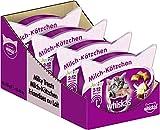 Whiskas Junior Milchkätzchen Katzensnacks für junge Katzen, 8 Packungen (8 x 55 g)