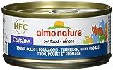 Almo Nature HFC Cuisine Katzenfutter - Thunfisch, Huhn und Käse 24x70 g