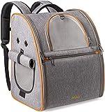 Anipark Hunderucksack Katzenrucksack Transporttasche Katzen Tragetasche Hunde Faltbare Reisetasche mit luftdurchlässigem Netz für Haustier