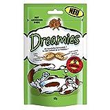 Dreamies Cat Snacks mit Pute   6X 60g Katzensnack