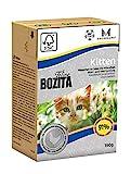 BOZITA Häppchen in Gelee Nassfutter Kitten - 16 x 190 g - nachhaltig produziertes Katzenfutter speziell für Kitten und erwachsene Katzen - Alleinfuttermittel