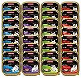 animonda Vom Feinsten Adult Katzenfutter, Nassfutter für ausgewachsene Katzen, Fisch & Fleisch Vielfalt, 32 x 100 g