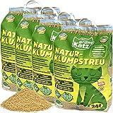 Green Cat / Die Grüne Katz Naturklumpstreu Katzenstreu 4X 24L (96L)