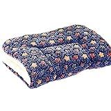 Hoylson Hundedecke Katzendecke flauschig und weich Schlafplatz Decke Waschbar kuscheldecke für Hund Katze Haustier Welpen (S, Dunkelblau)